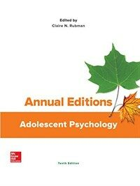 Adolescent psychology : annual edition / 10th ed