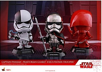 [Hot Toys] 코스베이비 Captain Phasma, Praetorian Guard, Executioner Trooper 콜렉터블 세트 COSB415