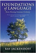 Foundations of Language : Brain, Meaning, Grammar, Evolution (Paperback)