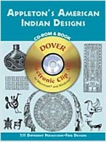 Appleton's American Indian Designs (Paperback, CD-ROM)