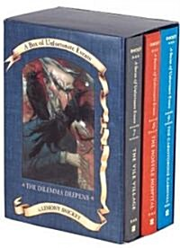 A Series of Unfortunate Events Box: The Dilemma Deepens (Books 7-9) (Boxed Set)