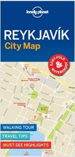 Lonely Planet Reykjavik City Map (Folded)