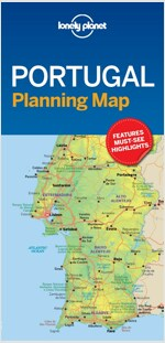 Lonely Planet Portugal Planning Map (Folded)