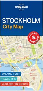 Lonely Planet Stockholm City Map (Folded)