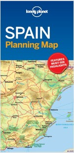 Lonely Planet Spain Planning Map (Folded)