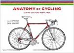 The Anatomy of Cycling : 22 Bike Culture Postcards (Cards)
