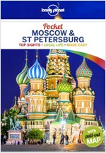 Lonely Planet Pocket Moscow & St Petersburg (Paperback)