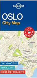 Lonely Planet Oslo City Map (Folded)