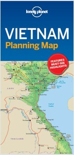 Lonely Planet Vietnam Planning Map (Folded)