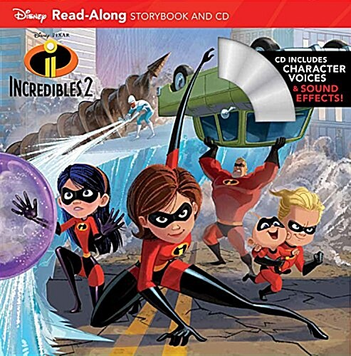 Incredibles 2 Read-Along Storybook and CD (Paperback)