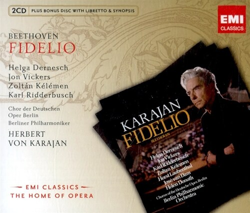 [수입] 베토벤 : 피델리오 [2CD][Bounus CD]