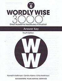 (4판)Wordly Wise 3000: Answer Key 6 (Paperback, 4th Edition)