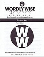 Wordly Wise 3000: Book 06 Answer Key (4/E) (Paperback, 4th, Answer Key)