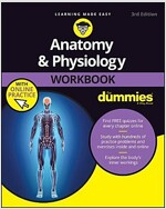 Anatomy & Physiology Workbook for Dummies with Online Practice (Paperback, 3)