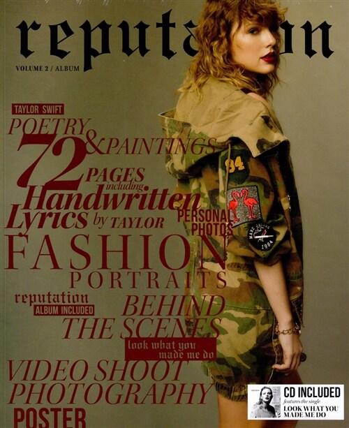 [중고] [수입] Taylor Swift - 6집 reputation [Special Edition Vol.2]