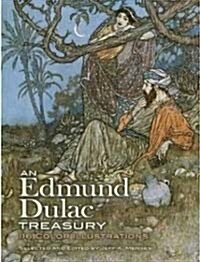 An Edmund Dulac Treasury: 116 Color Illustrations (Paperback, Green)