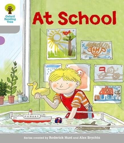 [중고] Oxford Reading Tree: Level 1: Wordless Stories A: at School (Paperback)
