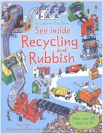 See Inside Recycling and Rubbish (Board Book)