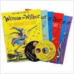 마녀 위니 익스플로러 컬렉션 6종 세트 (CD 2장 포함) : Winnie and Wilbur : The Explorer Collection (Paperback 6권 + CD 2장)