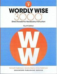 (4판)Wordly Wise 3000: StudentBook 7 (Paperback, 4th Edition)