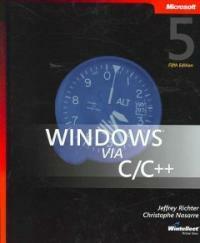 Windows via C/C++ 5th ed