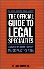The Official Guide to Legal Specialties (Paperback)