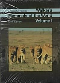 Walkers Mammals of the World (Hardcover, 6)