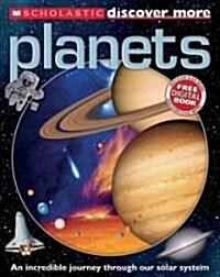 [중고] Scholastic Discover More: Planets (Paperback)