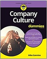 Company Culture for Dummies (Paperback)