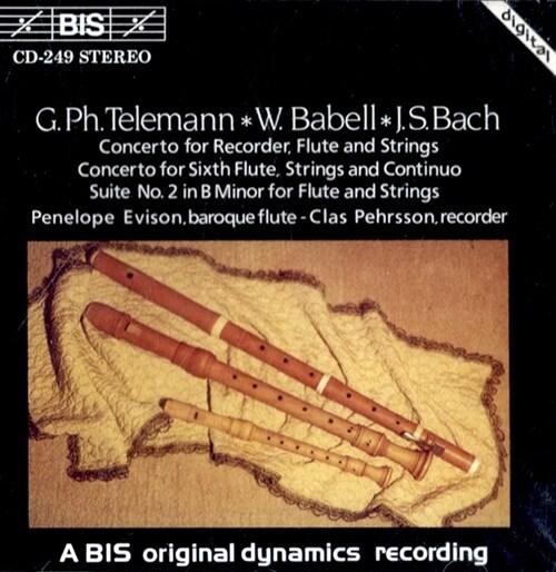 [수입] 텔레만 & 바흐 : 플루트 협주곡 & 관현악 조곡 2번