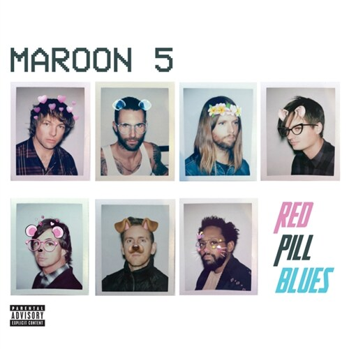 Maroon 5 - RED PILL BLUES [2CD Deluxe Version]