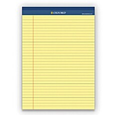 옥스포드 리갈패드 프로패드 플러스 A4(노랑색) 40매