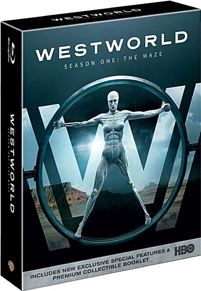 [블루레이] 웨스트월드 시즌1: 디지팩 한정판 (3disc)
