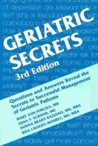 Geriatric secrets 3rd ed
