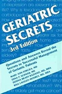 Geriatric Secrets (Paperback, 3 ed)