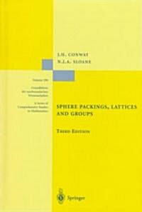 Sphere Packings, Lattices and Groups (Hardcover, 3, 1999)