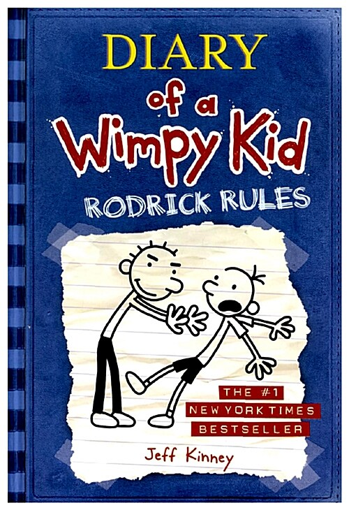 Diary of a Wimpy Kid # 2 - Rodrick Rules (Hardcover)