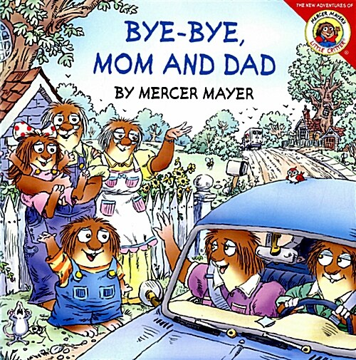 Bye-Bye, Mom and Dad [With Pull-Out Family Tree] (Paperback)