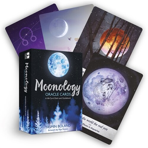 Moonology Oracle Cards : A 44-Card Deck and Guidebook (Cards)