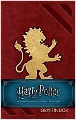 Harry Potter: Gryffindor Hardcover Ruled Journal (Hardcover)