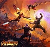 Marvel's Avengers: Infinity War - The Art of the Movie (Hardcover, Slipcase)