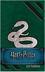 Harry Potter: Slytherin Hardcover Ruled Journal (Hardcover)