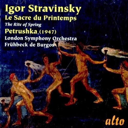 [수입] 스트라빈스키 : 페트루슈카 & 봄의 제전