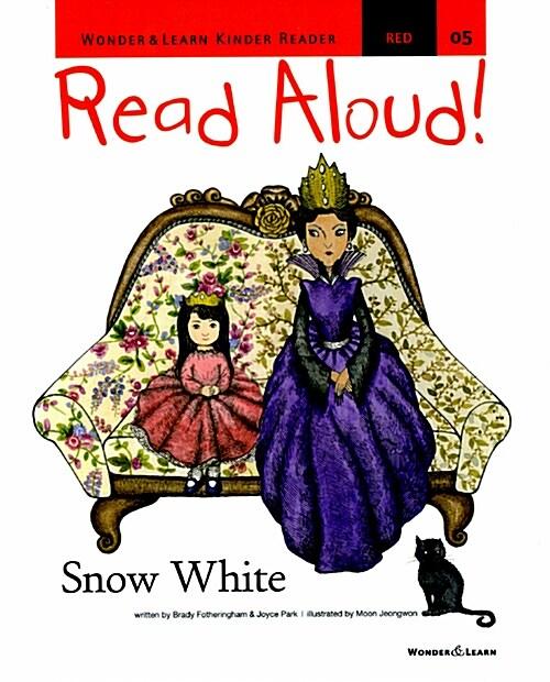 리드얼라우드 Read Aloud 05 : Snow White (책 + CD 1장 + DVD 1장)