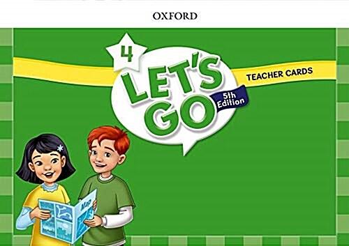 (5판)Lets Go 4: Teacher Cards (Cards, 5th Edition)