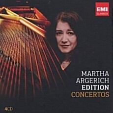 [수입] 마르타 아르헤리치 : 협주곡 모음집 [4CD]