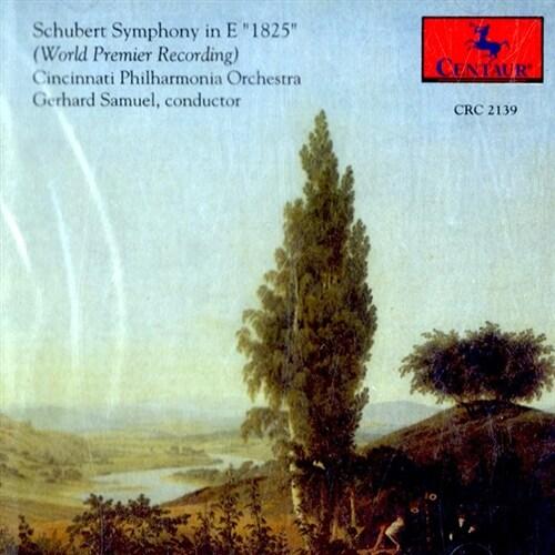 [수입] 슈베르트 : 교향곡 1825