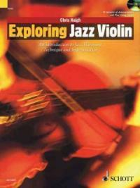 Exploring Jazz Violin : An Introduction to Jazz Harmony, Technique and Improvisation (Package)