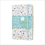 Moleskine 2018-2019 18m Limited Edition Petit Prince Weekly Notebook, Pocket, Weekly Notebook, Pattern White, Hard Cover (3.5 X 5.5) (Desk)