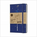 Moleskine 2019 12m Limited Edition Harry Potter Weekly Notebook, Pocket, Weekly Notebook, Blue, Hard Cover (3.5 X 5.5) (Desk)
